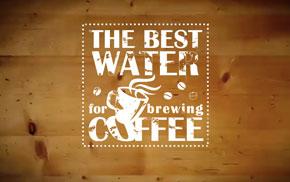 acqua per il caffè