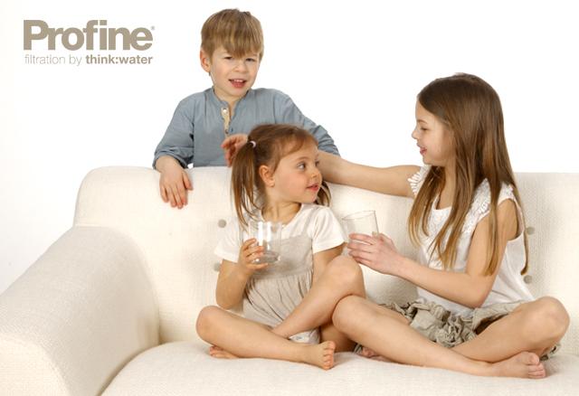Acqua filtrata da bere Profine